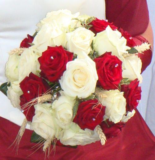 Art floral photos des compositions florales bouquet de mari e conseils en - Comment faire un bouquet de mariee ...
